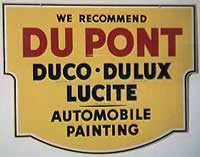 Dupont Duco sign