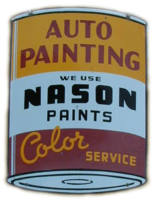 Nason auto paint sign
